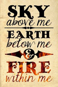 Tattoo quote . My sign is a fire sign