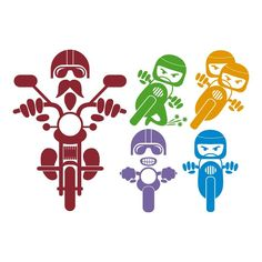 Biker Pack Cuttable Design Cut File. Vector, Clipart, Digital Scrapbooking Download, Available in JPEG, PDF, EPS, DXF and SVG. Works with Cricut, Design Space, Cuts A Lot, Make the Cut!, Inkscape, CorelDraw, Adobe Illustrator, Silhouette Cameo, Brother ScanNCut and other software.