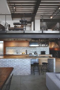 Clever Layout and Functions of the Capitol Hill Loft Residence in Seattle