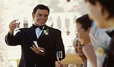 Propose the first toast at the reception