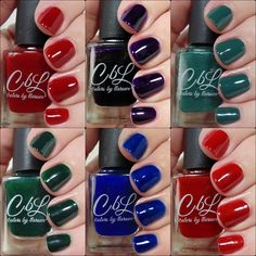 Ashley is PolishAddicted: Colors by Llarowe: Winter Jellies and Crellies…
