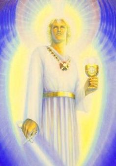 Arch Angel Michael  Blue Flame light,  powerful protection  Guiding my sight,  Full God-direction