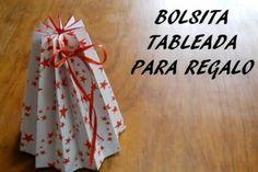 4 bolsas de papel DIY para sorprender con tus regalos | Aprender manualidades es facilisimo.com