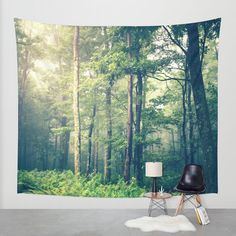 Inner Peace Wall Tapestry by Olivia Joy StClaire | Society6