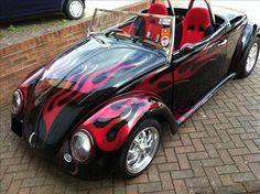 1972 Satin Black Wizard Roadster