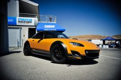 Pinned by http://FlanaganMotors.com. This Super20 Mazda Miata will get your motor running!
