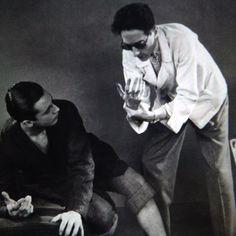 JEAN COCTEAU | LE SANG D'UN POÈTE  |  1930 |  Les mains de Cocteau... #jeancocteau #enriqueriveros #lesangdunpoete #thebloodofapoet #1932 #tournage