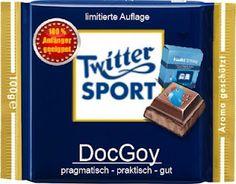 DocGoy - pragmatisch - praktisch - gut Food Humor, Funny Food, Sports, Geek Style, Fake News, Chocolates, Highlights, Canada, Twitter