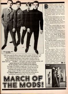 March Of The Mods @VintageClothin.com