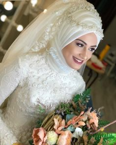Muslim Wedding Gown, Wedding Bun, Wedding Hijab, Wedding Gowns, Ball Dresses, Bridal Dresses, Flower Girl Dresses, Bridesmaid Dresses, Hijab Style Dress