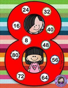 Kids Math Worksheets, Maths Puzzles, Math For Kids, Activities For Kids, Math Board Games, Diy Classroom Decorations, Math Blocks, Magic Squares, Homeschool Math