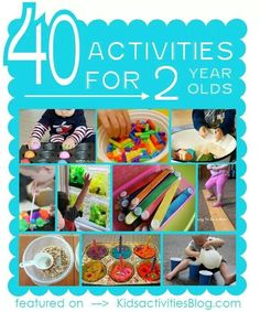 Activities for todlers