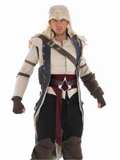 Costume Médiévaux Assassins Creed II Assassin Colonial Costume
