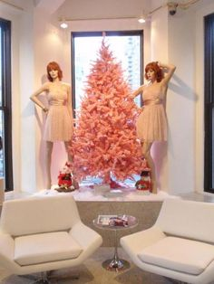 Pretty in Pink Tree - from our customer in NYC