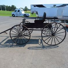 Antique Buggy Horse Drawn Carriage 1800's Beautiful Piece | eBay