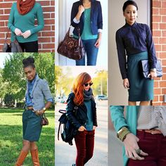 Some great ideas for #WearTeal Day (Friday, September 6--show your support for women with ovarian cancer)