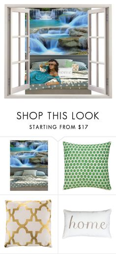 """""""Welcome Home"""" by lauren-ilana ❤ liked on Polyvore featuring interior, interiors, interior design, home, home decor, interior decorating and Kate Spade"""
