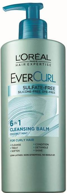 Introducing the Hair Expertise EverCurl Cleansing Balm, L'Oreal's first 6-in-1 cleansing conditioner for dry, damaged hair.