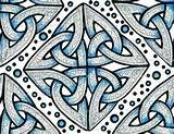 Celtic Knots fabric - whimzwhirled - Spoonflower