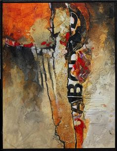 """Abstract Artists International: Mixed Media Abstract Art Painting """"Don't Think Twice"""" by Colorado Mixed Media Abstract Artist Carol Nelson Abstract Expressionism, Abstract Art, Picasso Paintings, Watercolor Artists, Small Paintings, Art Paintings, Mix Media, Abstract Photography, Art Blog"""