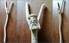 Krzyżyk, Jezus Chrystus na krzyżu