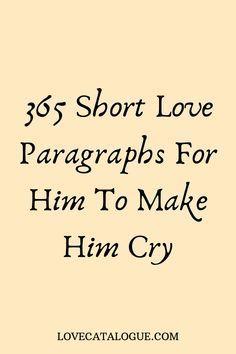 365 Heartfelt Love Messages