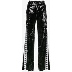 Faith Connexion x Kappa Sequin Embellished Trackpants ($1,085) ❤ liked on Polyvore featuring faith connexion