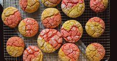 Strawberry Lemonade Cake Cookies