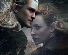 Tauriel-Legolas | TAURIEL - Evangeline Lilly - The Hobbit ...