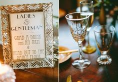 great gatsby table decor | Chick Great Gatsby Wedding Inspirational Shoot » Photo 14