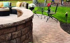 Walls can create the perfect chill spot! Decorate your backyard and enjoy the summertime.