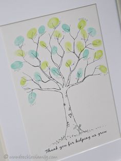 You gifts, teacher thank you cards, teacher gifts from class, your teacher, Teacher Gifts From Class, Teacher Retirement Gifts, Teacher Thank You, Your Teacher, Thank You Gifts, Volunteer Gifts, Volunteer Appreciation, Teacher Appreciation Week, Thumbprint Tree