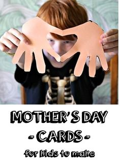 The most meaningful Mother's Day cards are lovingly handmade. There are so many clever, fun, easy ways for kids to show their love for their mom. One super cute idea is called Hearts & Hands. Simply trace around the hand on a folded piece of paper, cut along the trace lines, and unfold to create two hands with a heart in the middle. Preschoolers will have fun using their fingerprint to design a flower bouquet with paint. Read on as eBay shares cute card ideas for any age to make.