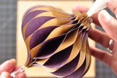 paper ornament tutorial