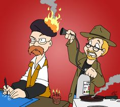 Adam and Jamie #mythbusters