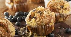 Made Without Gluten Vegan Blueberry Maple Oat Muffins - Healthy Living Market & Café Blueberry Streusel Muffins, Blueberry Cream Cheese Muffins, Homemade Blueberry Muffins, Vegan Blueberry, Blue Berry Muffins, Weight Watchers Muffins, Weight Watchers Breakfast, Weight Watcher Dinners, Ww Recipes