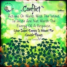 Conflict.