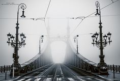 awesome I Spent 4 Years Capturing The Beauty Of Budapest When It's Covered By Fog