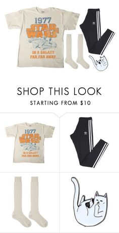 """""""Untitled #199"""" by chill-outfits ❤ liked on Polyvore featuring adidas, Maria La Rosa and RIPNDIP"""