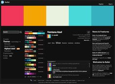 By far the best colour palette generator. All yo need is to sign at https://color.adobe.com. You can save palletes fo future use, generate pallets from an image and intergrates seemlessly with other adobe applicatiions. You cant go wrong.