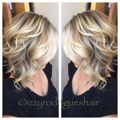 Blonde Balayage ❤️❤️ #aveda