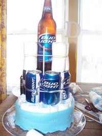 Gift idea for a beer and diaper party!