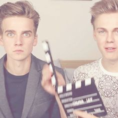 I love it when Caspar does that and Joe's reaction XD
