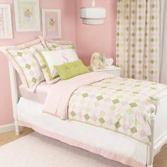 Ivy League Pink Kids Bedding Collection by Doodlefish. $700.00. Usually ships in 2-4 weeksMake a sophisticated yet youthful impression on your little girl's room with this Ivy League Pink Kids Bedding Collection! Featuring Doodlefish's preppy Ivy League Pink fabric, this bedding collection includes a duvet, bed skirt and standard sham in your choice of size. Add the matching euro shams, toss pillows and window treatments to complete your little girl's bedroom! Personalize the ...
