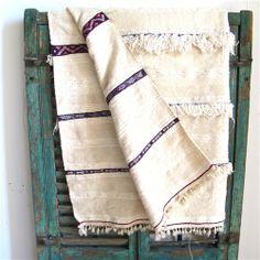 Handira:Moroccan Wedding Blanket