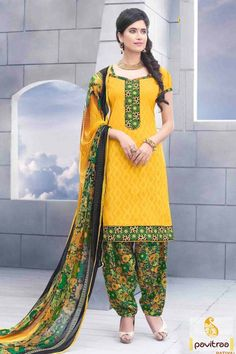 Dress up and look like a fashionista in yellow multi jacquard flower printed punjabi style dress online with Indian prices. We offer most popular patiala suit for festive occasions. #salwarsuit, #Indiandresses, #dress, #dressesonline, #casualdresses, #formaldresses, #punjabistyle, #dailywearsalwarsuit, #officewearsalwarsuit, #patialasalwarkameez More Info.: http://www.pavitraa.in/store/patiala-salwar-suit/ Any Query: Call Us:+91-7698234040 E-mail: info@pavitraa.in