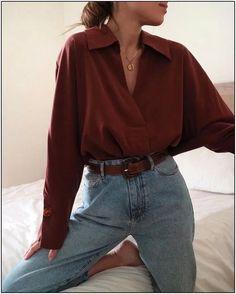 Alternatives au shopping Fast Fashion - tenues de style de mode durable écologique style vintage Vous êtes à la bonne adresse pour diy No - Retro Outfits, Mode Outfits, Cute Casual Outfits, Fall Outfits, Fashion Outfits, Fashion Shoes, Jeans Fashion, Fashion Hair, Fashion Jewelry