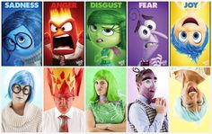 Need group costumes for Halloween? DIY Inside Out character costumes for the whole gang.