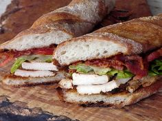 Toasted Club House Sandwiches