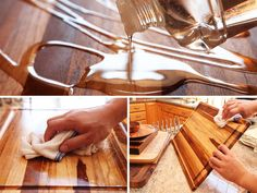 How to season and maintain a wood cutting board.